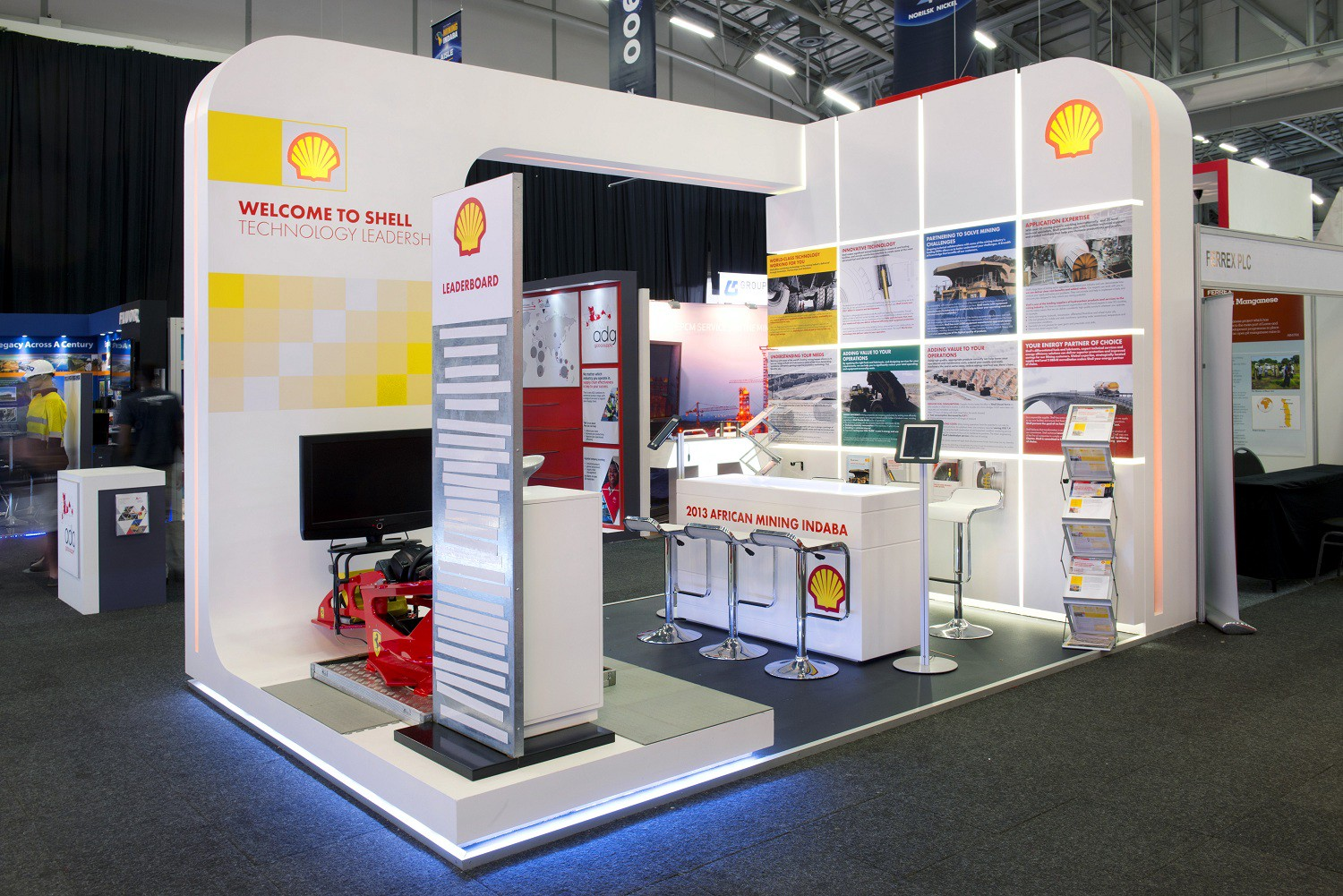 Small Exhibition Stand Jobs : Shell scheme printing spark international medium