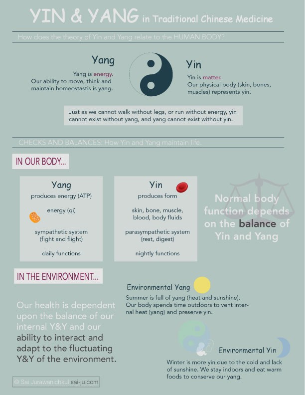 Yin and Yang in Traditional Chinese Medicine (TCM)