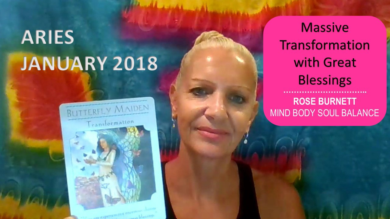 Aries January 2018 Tarot Reading — Massive Transformation with Great