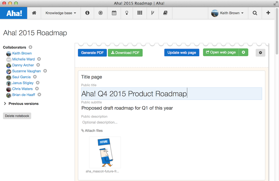 Product Roadmap Template For Is Not A Spreadsheet - Google docs roadmap template