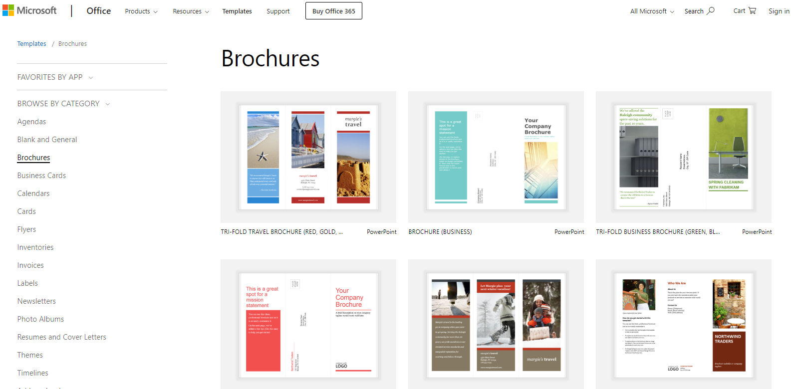 where can i make a brochure online for free