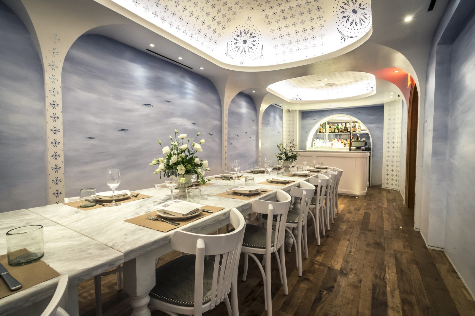 Leuca At The William Vale Brooklyn NY Private Dining Room