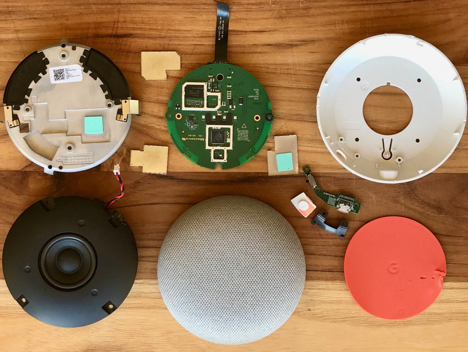 How To Build Speach Amplifier Google Home Mini Teardown Comparison Echo Dot And Giving Technology A Voice