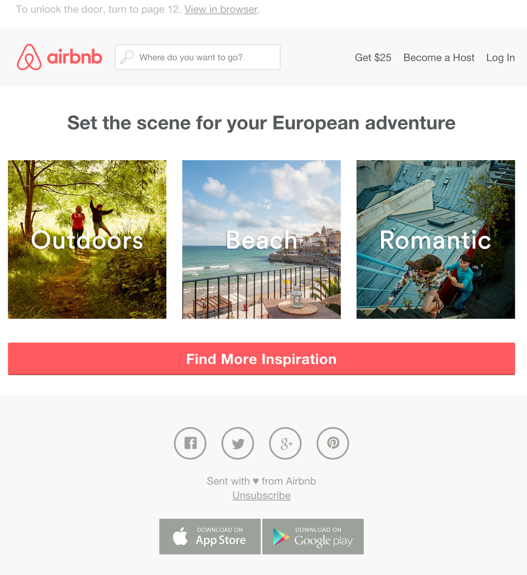 Lessons Learned From Airbnb S Email Specialist Really Good Emails