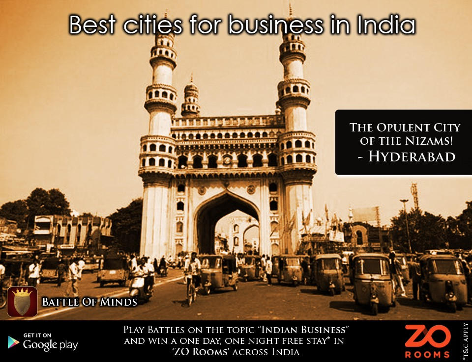 Best Cities for Business in India – Battle of Minds – Medium