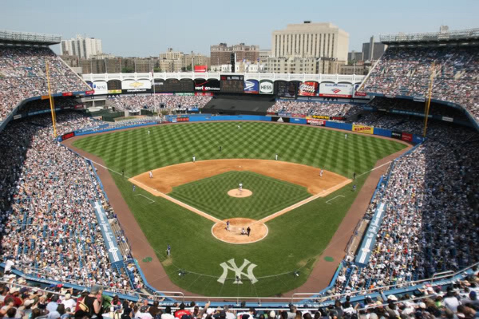 How i learned to love those bums from the bronx the relish medium - Yankee stadium images ...