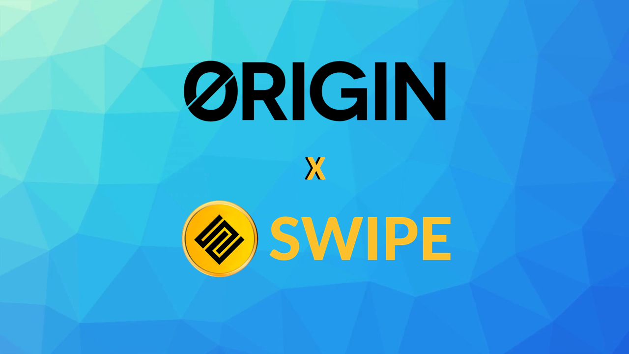 da13d5d2cc46e6 SWIPE is pleased to formally introduce our partnership with Origin  Protocol, a San Francisco-based blockchain company build a protocol for the  creation of a ...