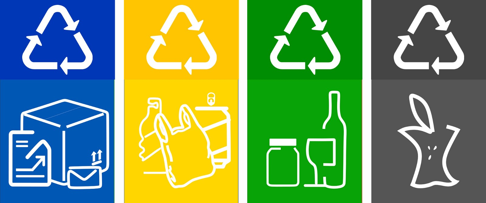 This is a picture of Current Printable Recycling Signs for Bins