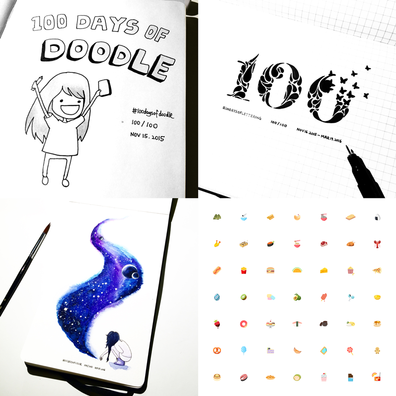 100 Days Of Motion Design Ux Collective
