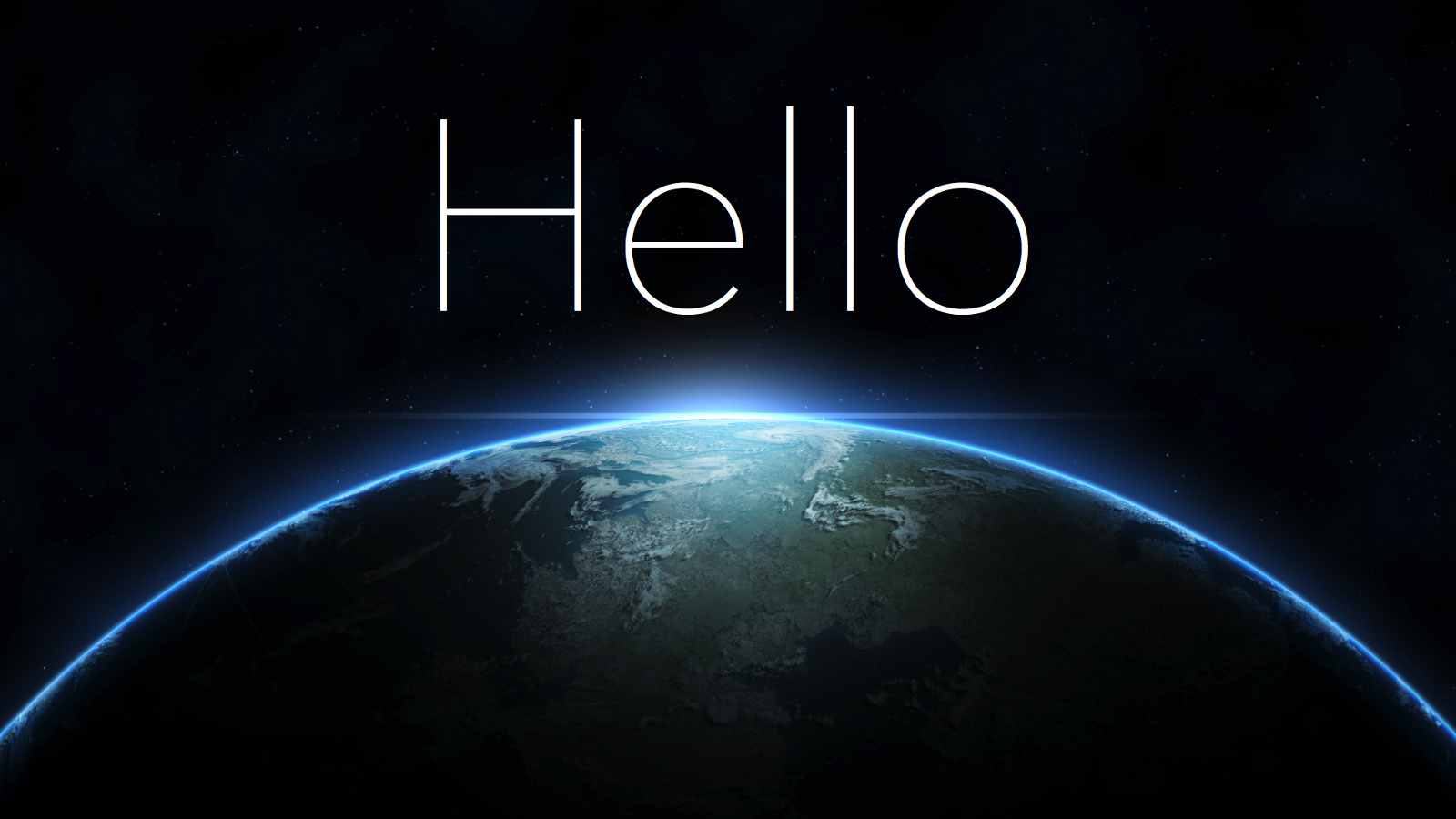 Time to First Hello World