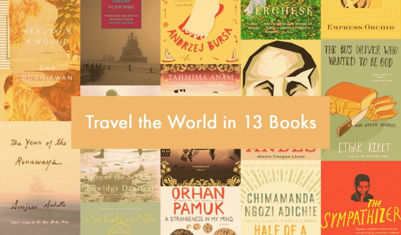 Travel the World in 13 Books