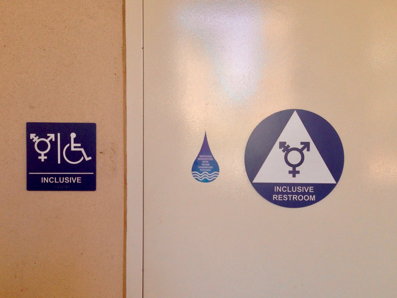 Anxiety And Activism In Transgender Bathroom Signs Don