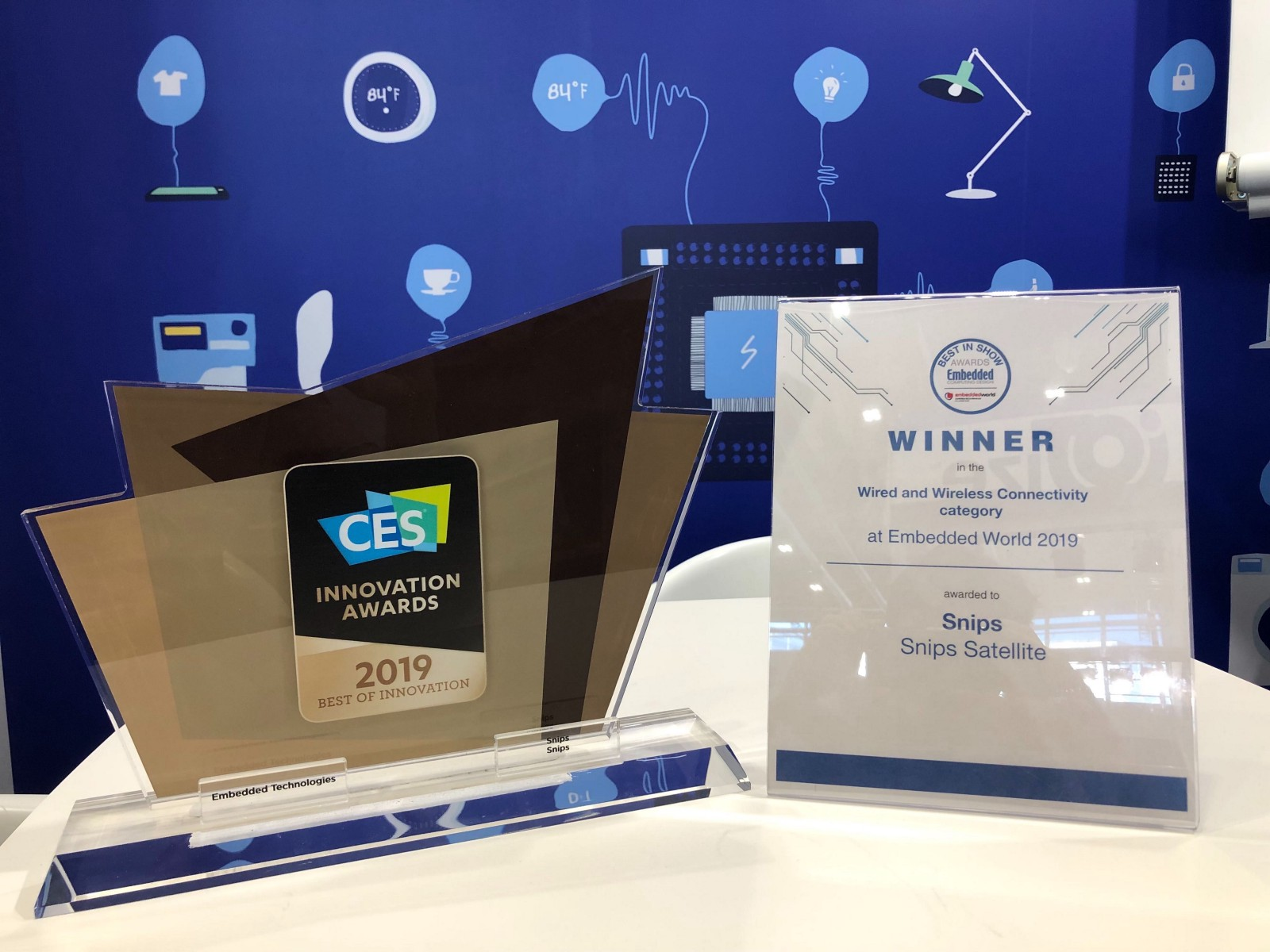 CES Embedded World awards 2019 AI