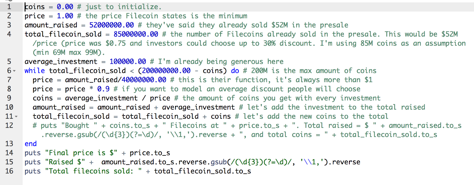 The analysis Filecoin doesn't want you to read