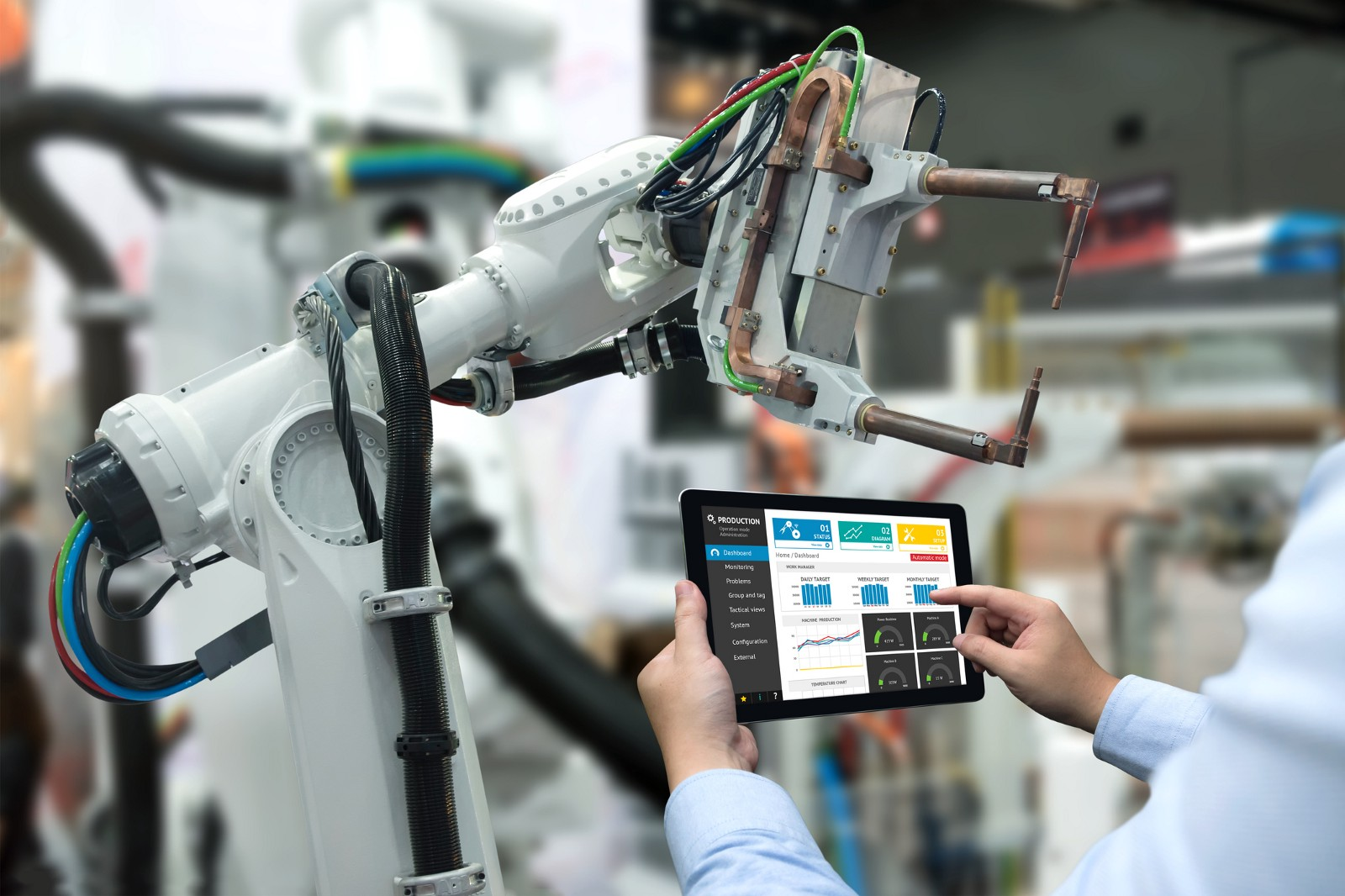 Charlie and the Automated Factory: How the manufacturing industry is embracing change