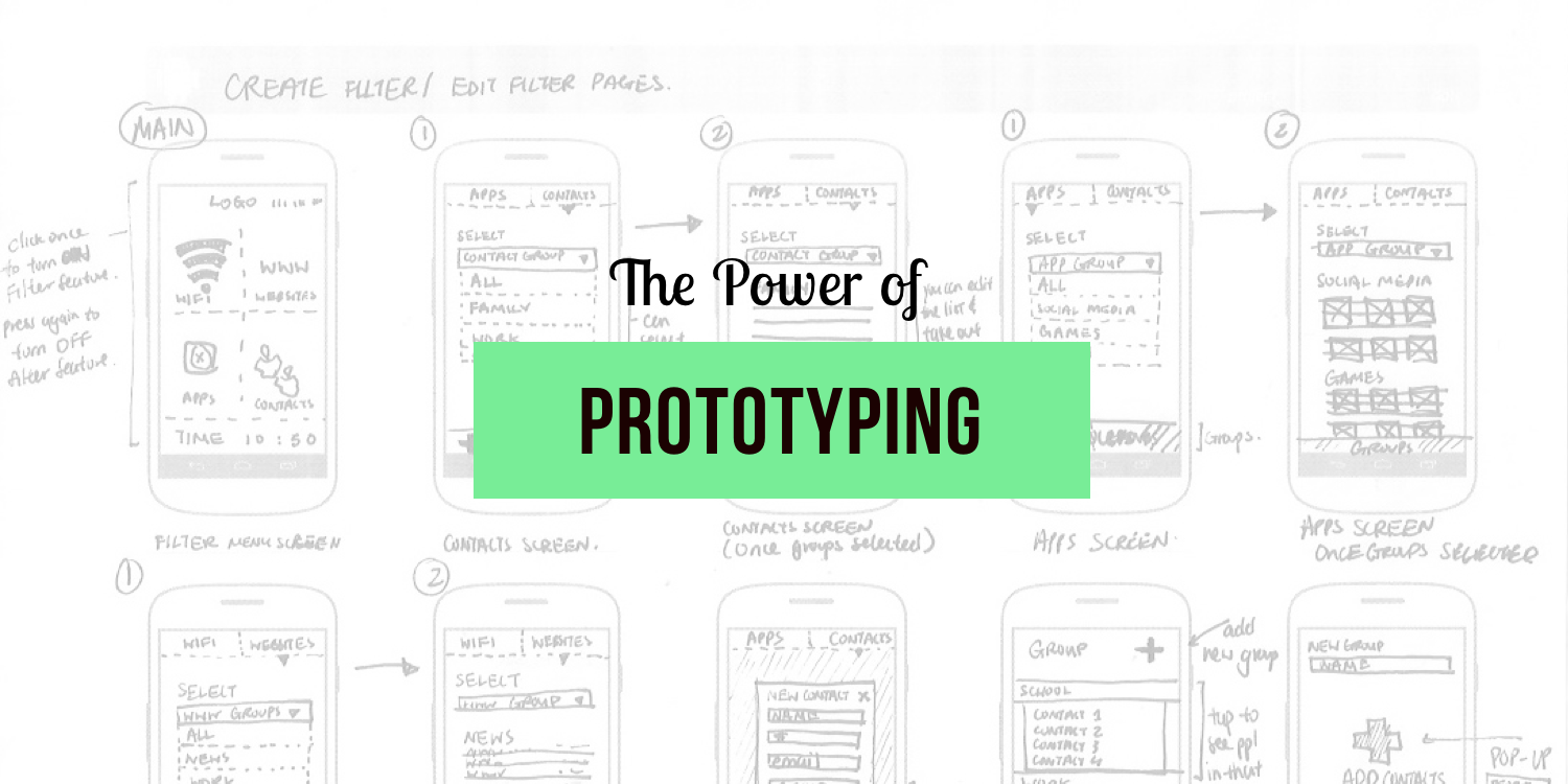 The Power of Prototype in Design Thinking