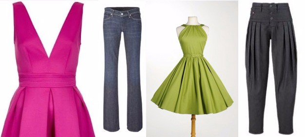 how to give skirts shape