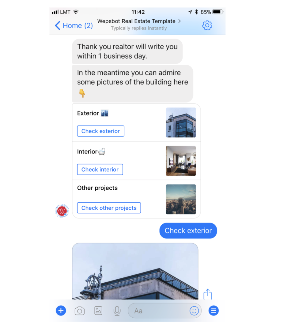 Facebook Messenger Chatbots: The Definitive Guide 21