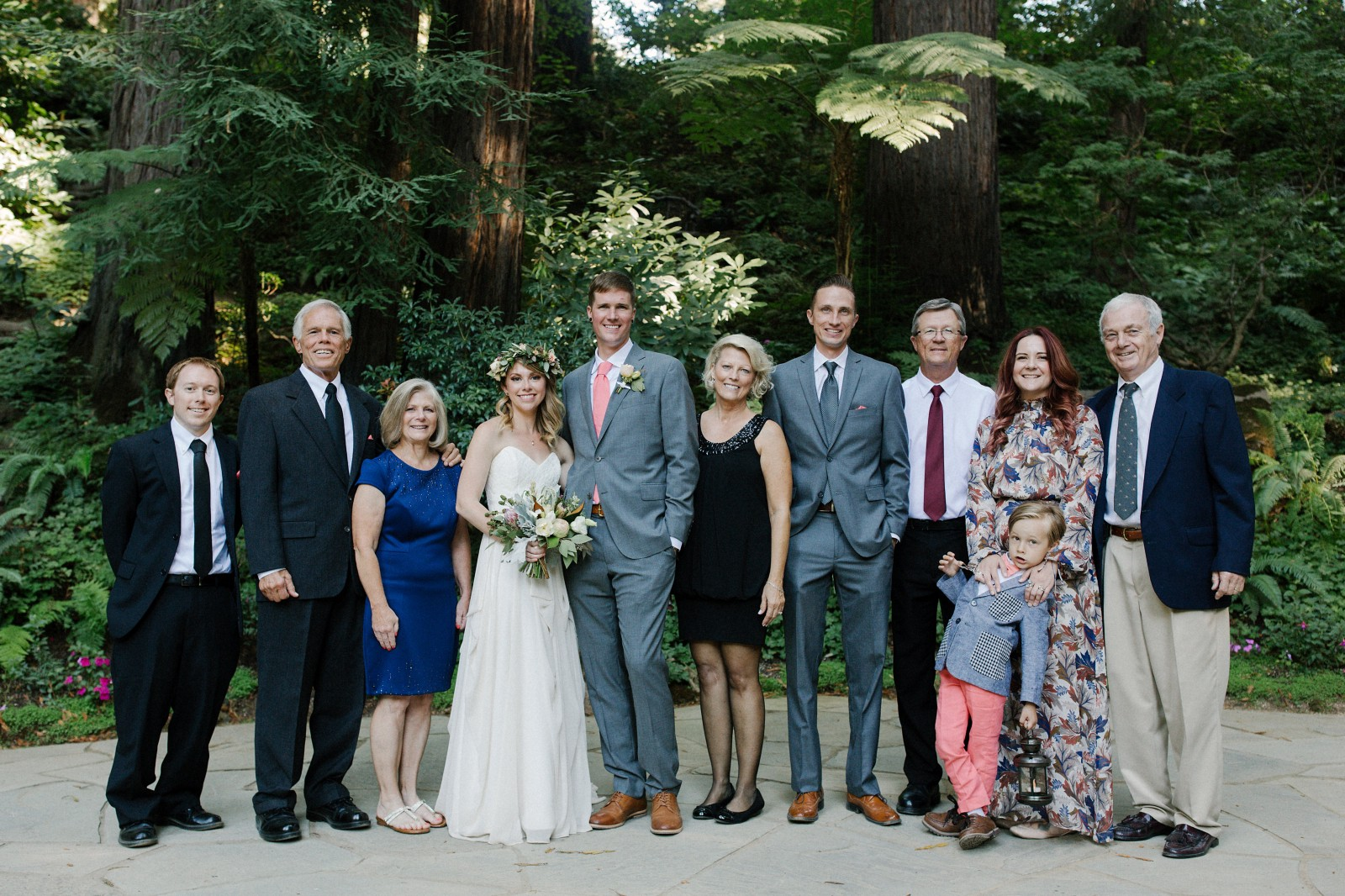 A Wedding Party in Coral & Gray – Linzi Berry – Medium