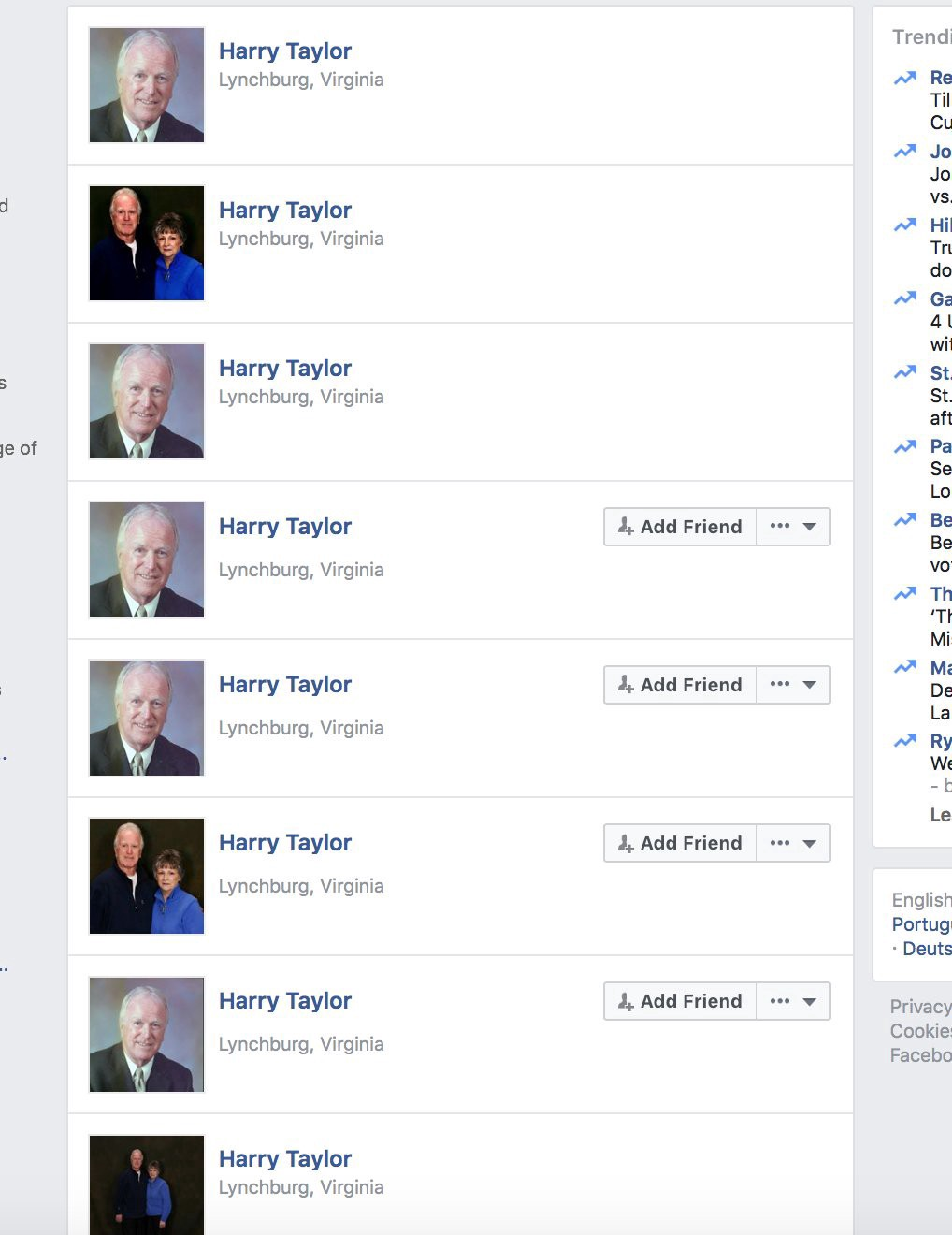 CHRYSTAL: Pictures to use for fake profiles
