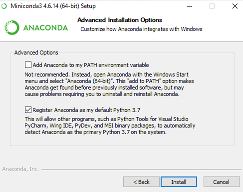 Anaconda is Bloated - Set up a lean, robust data science