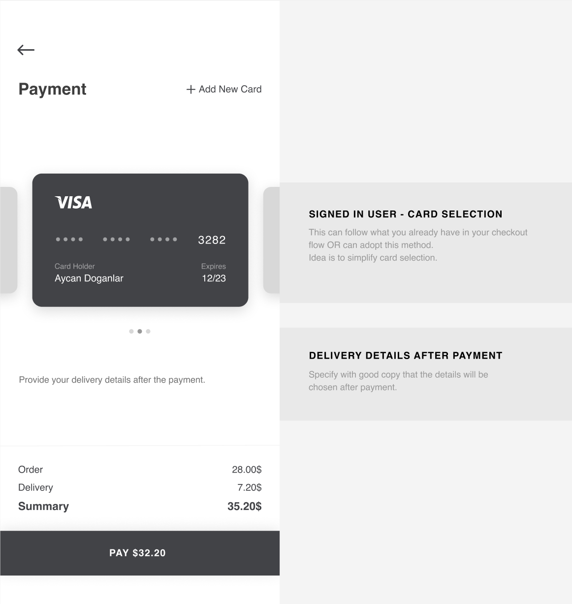 Payment-first checkout experience — a UX exploration 19