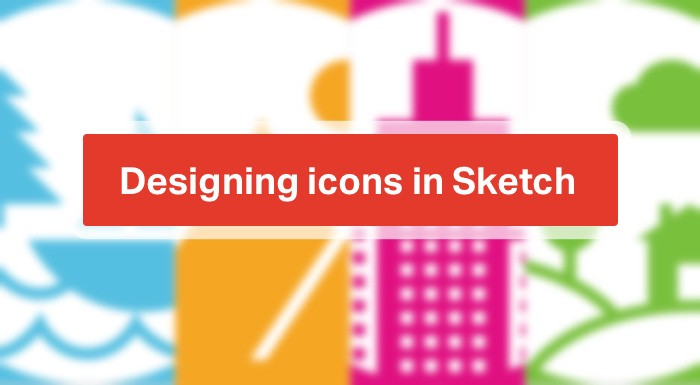 designing icons in sketch