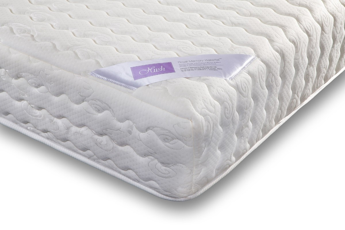 the brand has a limited range of premium mattresses that one can buy from its online store the memory foam and royal memory waterfall mattresses are some