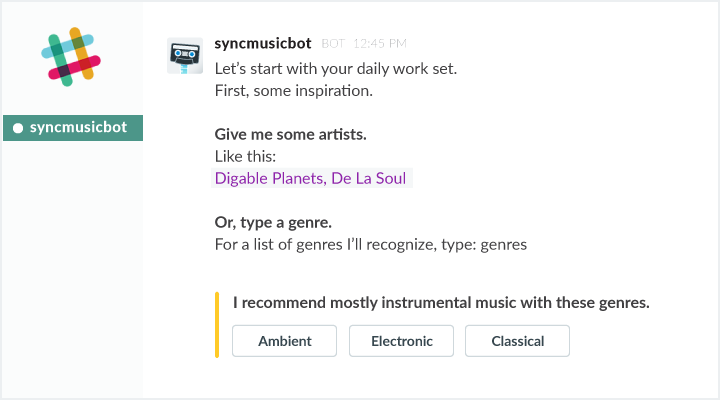 how to set up music bot