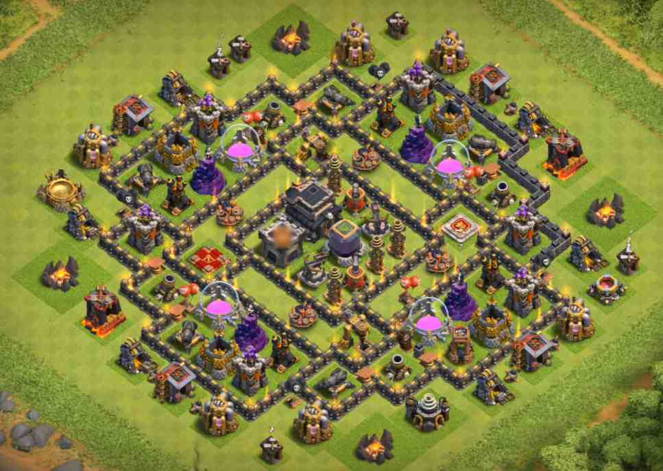 best town hall 9 farming base designs tumbler one medium