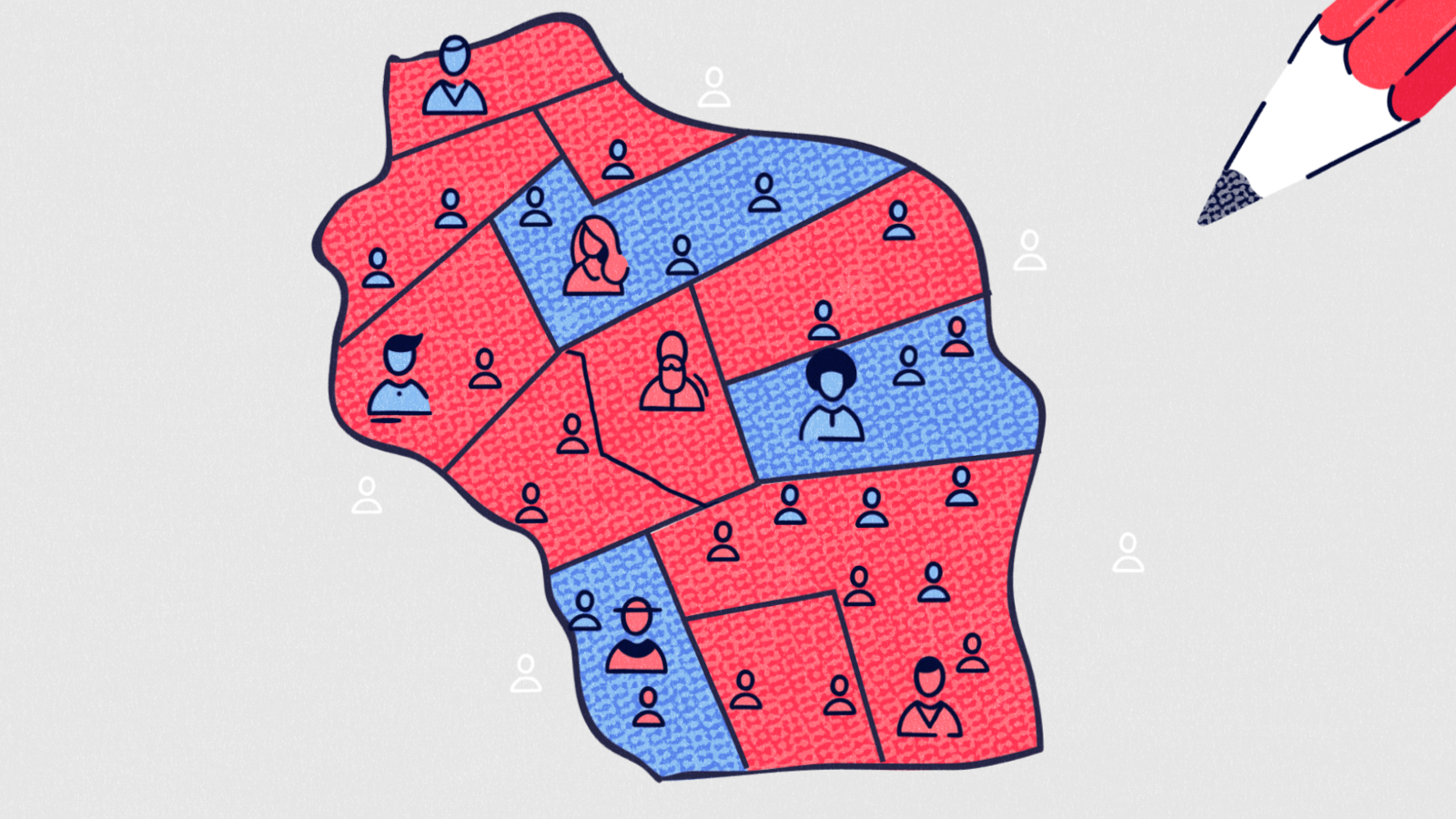 How Republicans Rigged The Map Flippable - Us house of representatives district map wisconsin