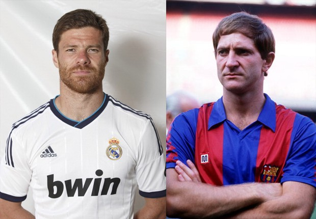 Miguel Angel e Xabi Alonso
