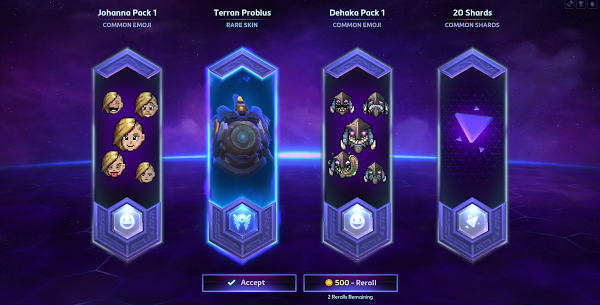 Heroes Of The Storm 20 Economy Cosmetic Content Progression