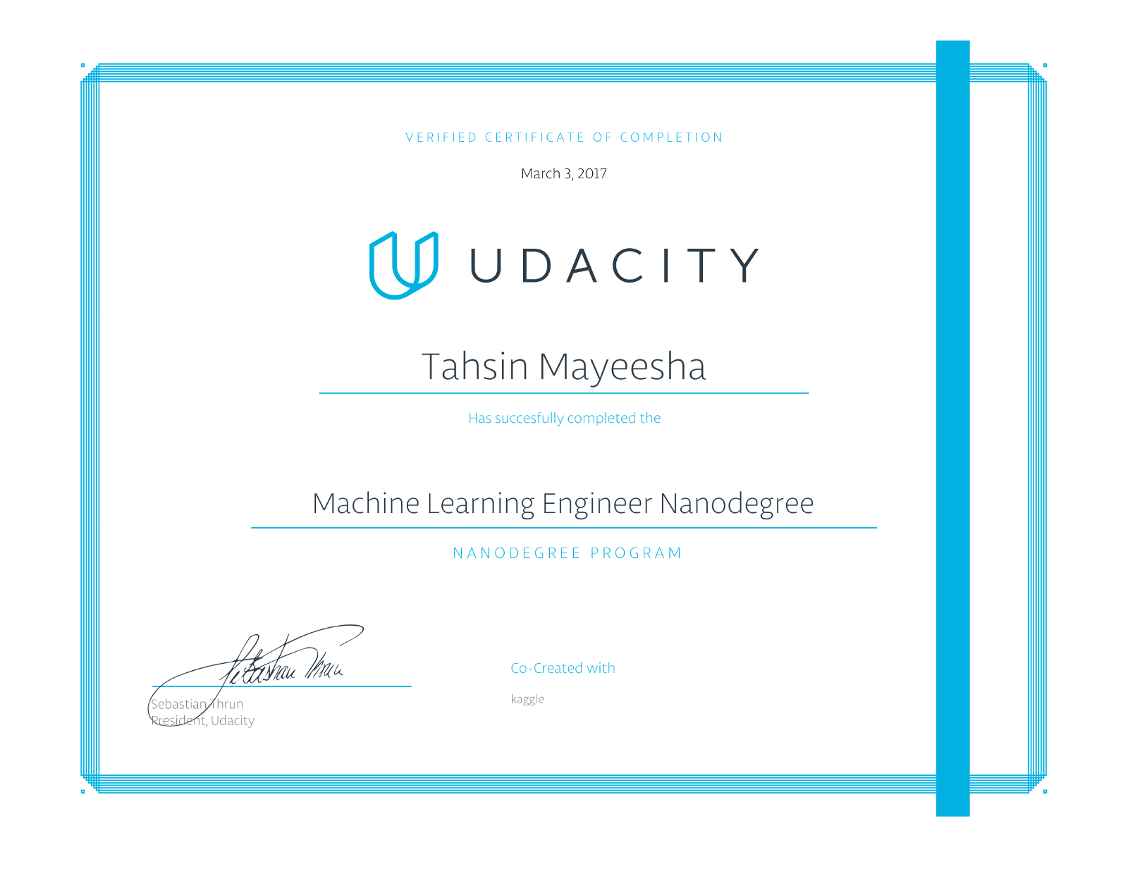 All About The Udacity Machine Learning Nanodegree Program From A