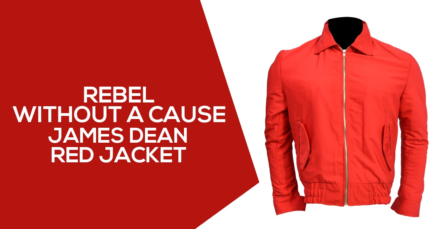 3939855ad5d Stupendous James Dean Red Jacket from Rebel without a cause