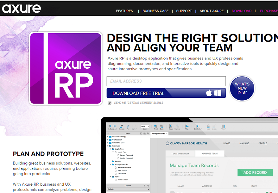 axure - Website Prototyping Tool