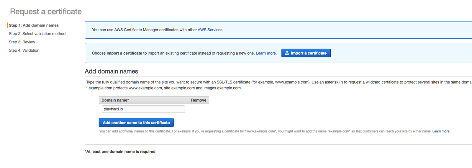 Host your static web site with s3 cloudfront route 53 request certificate 2 1betcityfo Choice Image