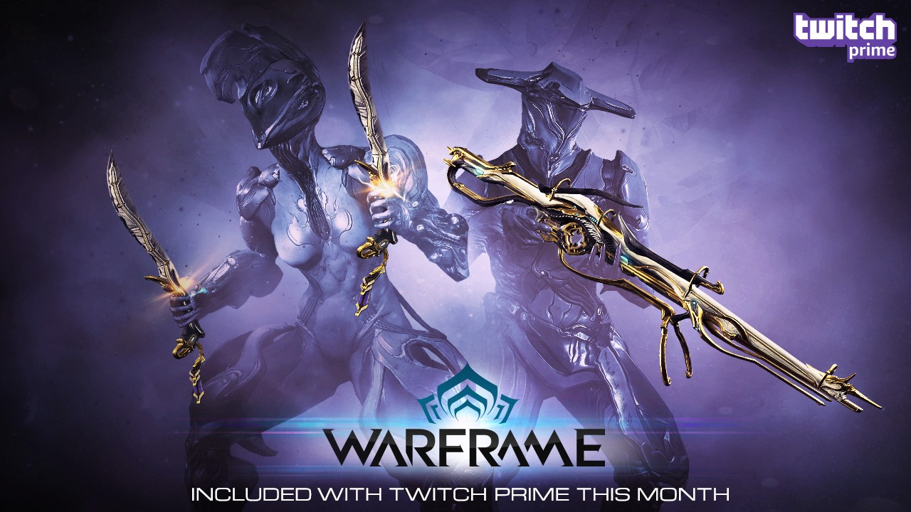 twitch prime members  get even more prime weapons in warframe