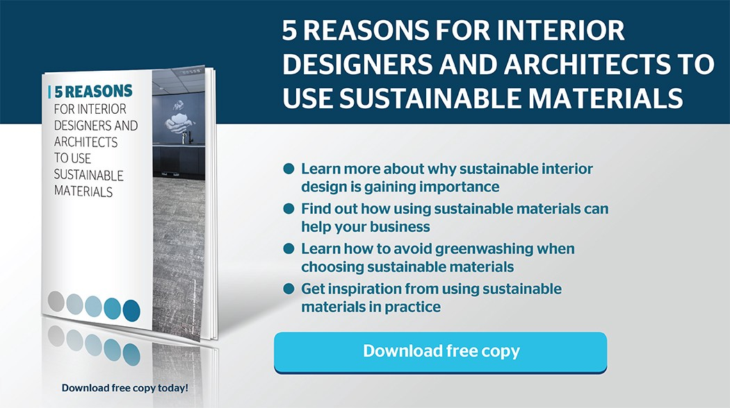 Why Should Interior Designers And Architects Choose Sustainable