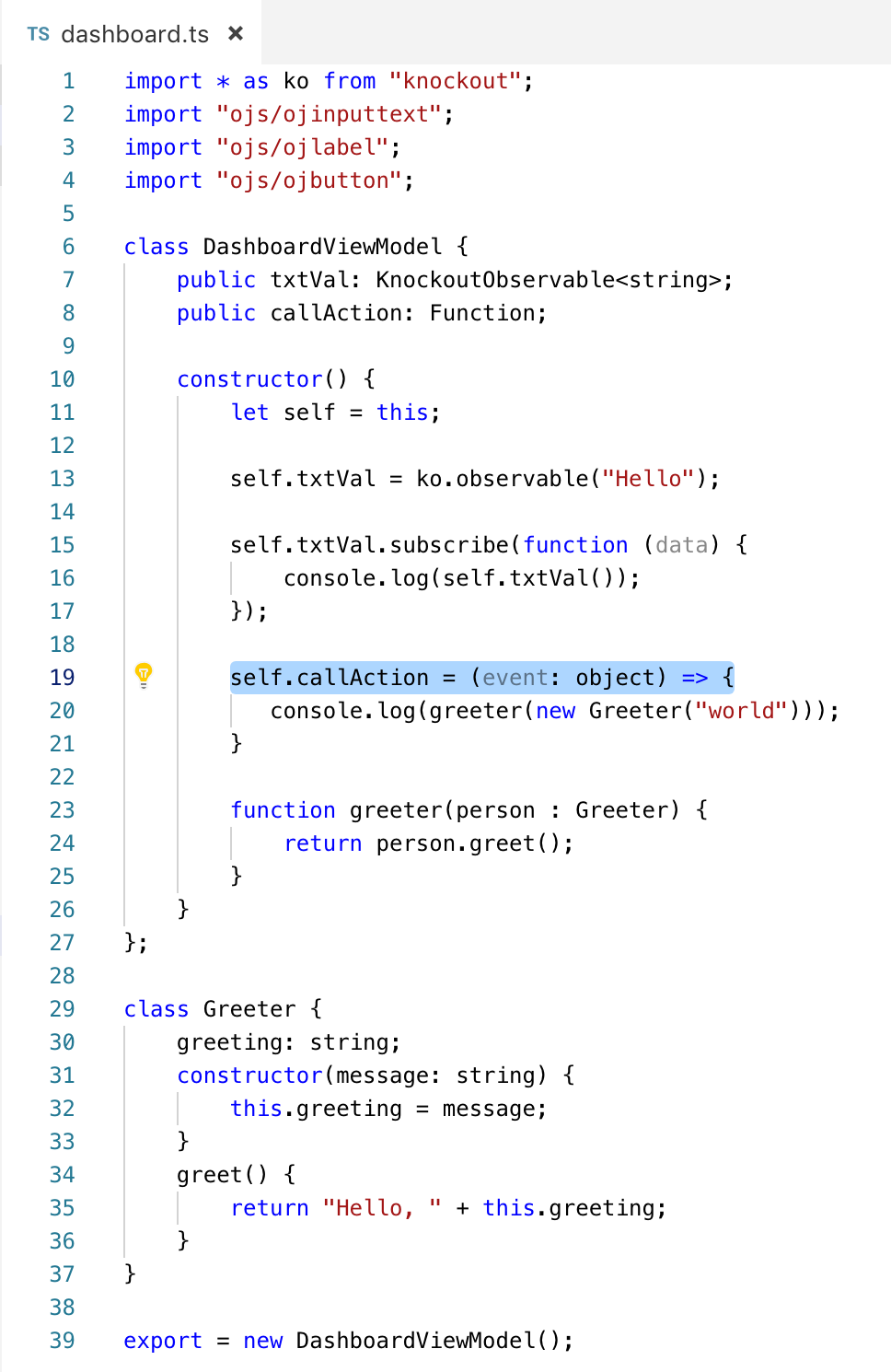 TypeScript Example in Oracle JET 6.0.0 – Oracle Developers ...
