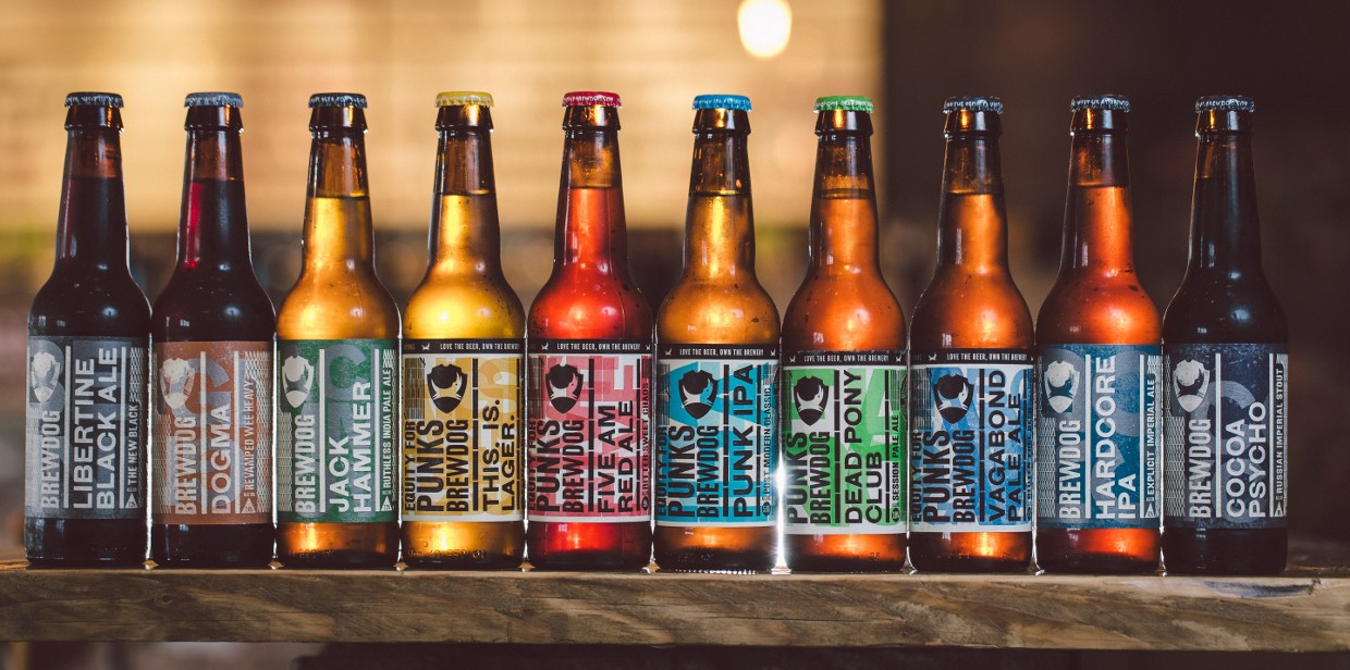 Rebellious Branding Done Right A Case Of Brewdog Lhbs Collection