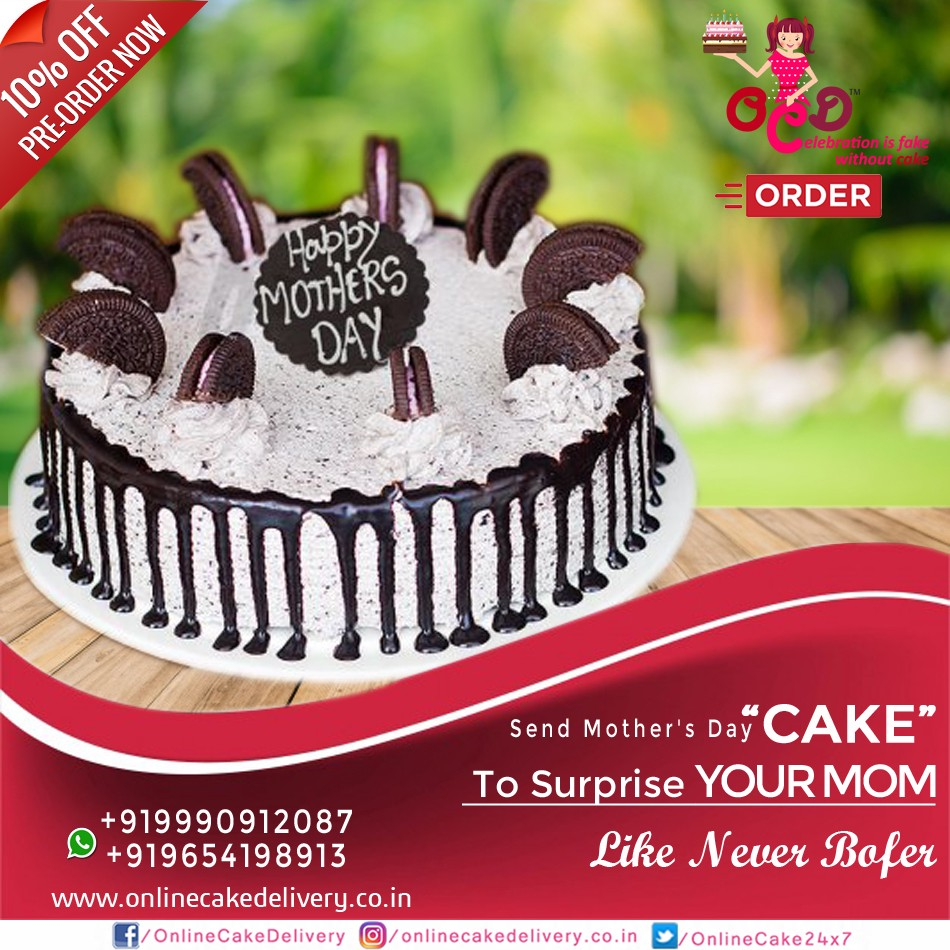 Happy Mothers Day Special Cake In India Online Cake Delivery Ocd
