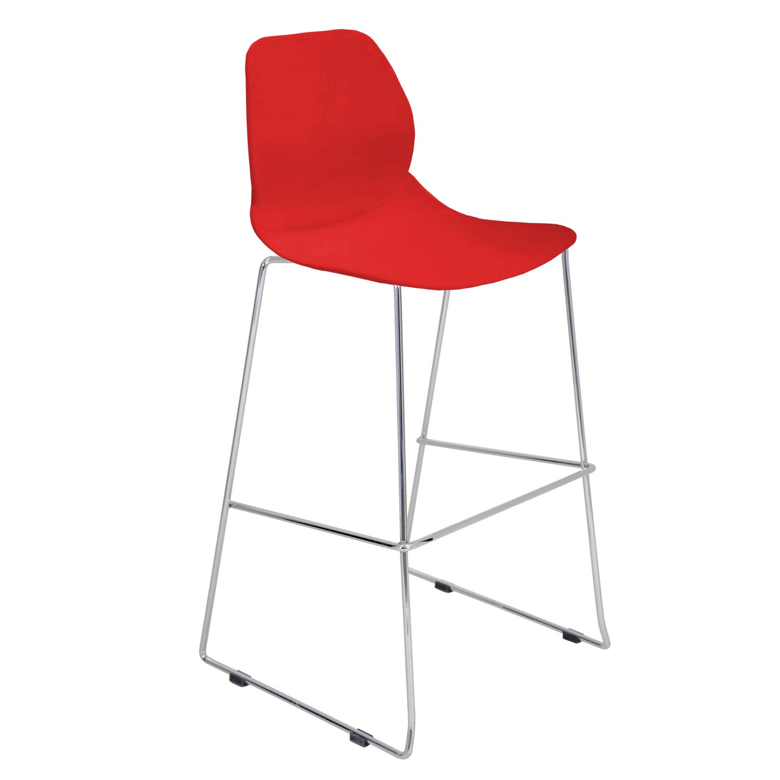 Droplet Bar Stool Stacker Red: Droplet Bar Stool Stacker Red Enhances The  Style And Modernity Of Your Counter Or Bar Area. This Chic Ice Cream Parlor  Stool ...