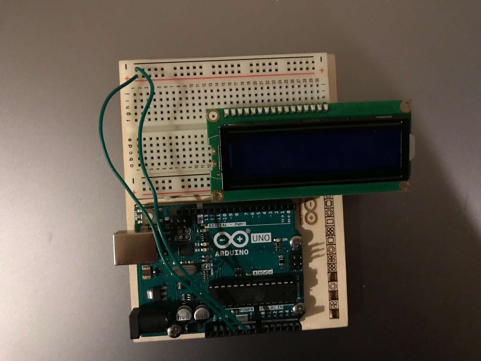 How To Make A Digital Voltmeter Using Arduino Freecodecamporg Build Circuits For Beginners That Can Be Built On Breadboard This Is The Basic Setup After Step 1