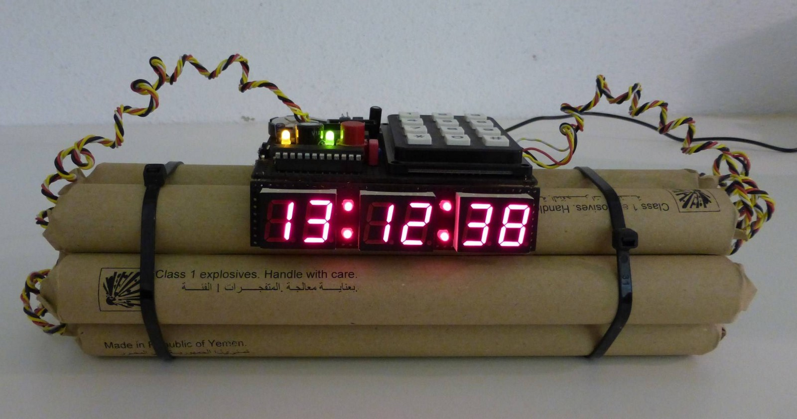 Unusual Clocks Ied Awareness For First Responders Homeland Security