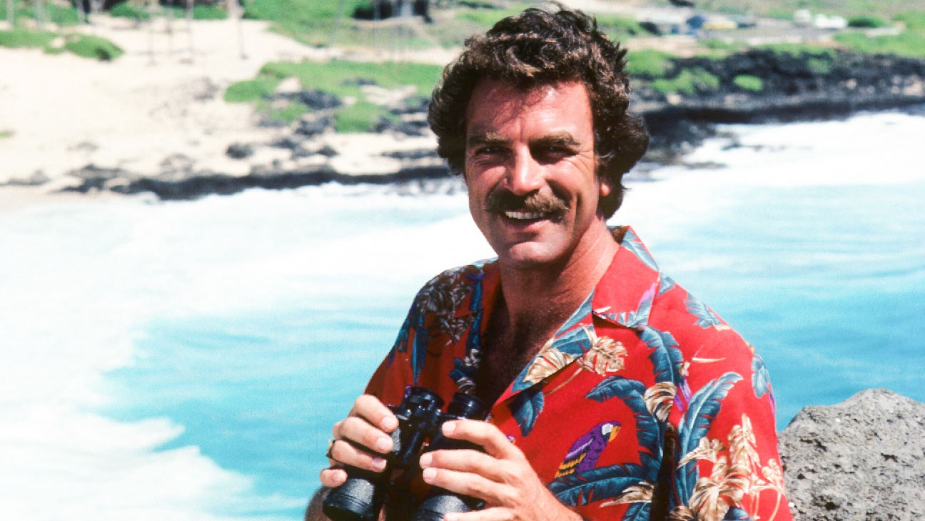 A Man And His Moustache The History Of Magnum P I