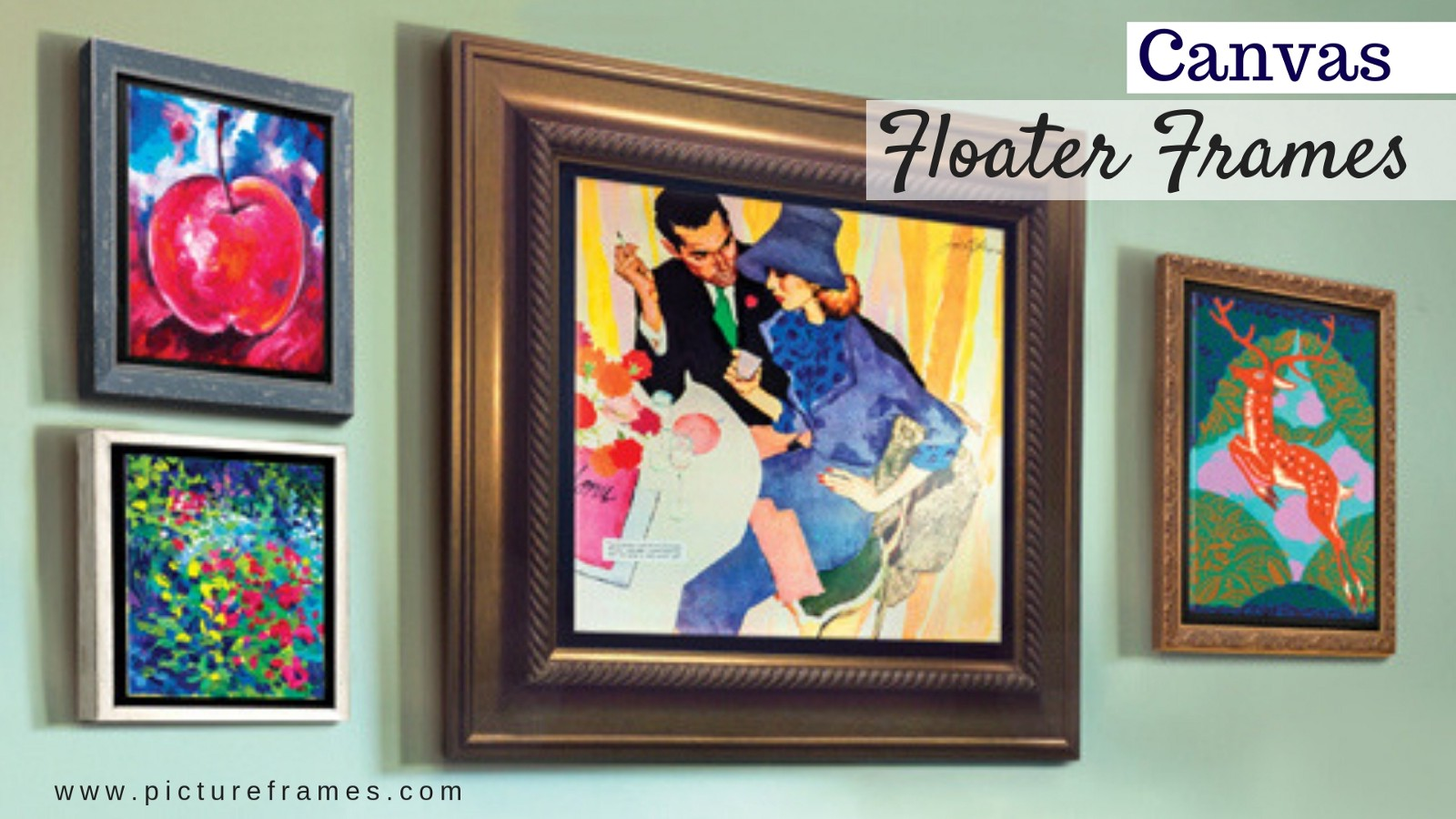 8c305c4c9926 How to frame your artwork using canvas floater frame jpg 1600x900 Floating  frames for canvas