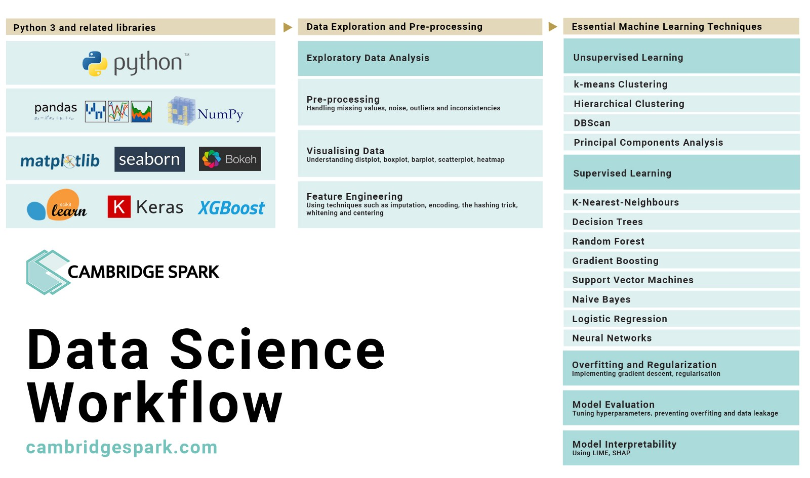 Building internal capabilities to develop Data Science projects