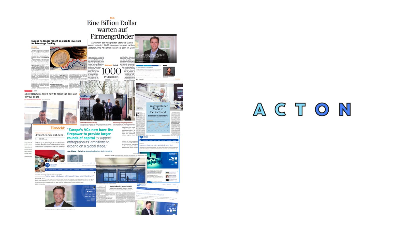Acton In The News Acton Perspectives
