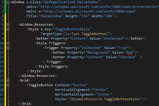 e152474650121 Customising Controls with WPF — Part II Templates and triggers (How ...